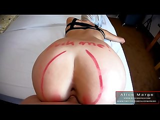POV DoggyStyle! Big Dick Fuck Me In Doggy! AliceMargo.com