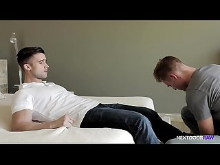NextDoorRaw Cute Lotto Winner Has Bareback Fun w/ Hunk Best Friend