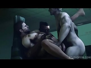COMPLETE ANAL PENETRATION StudioFOW 3d gay games