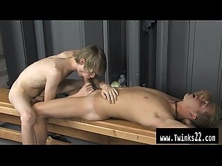 Hot gay After gym classmates taunt Preston Andrews he sulks in the