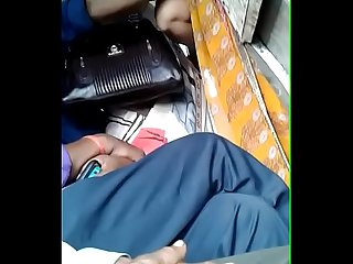 desi housewife groped and rubbed by a lucky chap in bus...she enjoyed it..