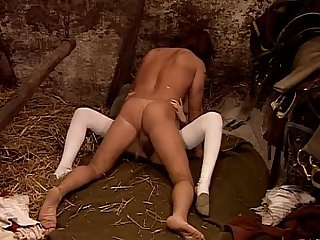 vintage retro frau interracial sex